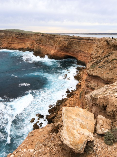 A top the Cummings Monument, on central area of the west coast of the Eyre Peninsula